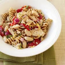 salade de pâtes au thon et haricots blancs recette minceur