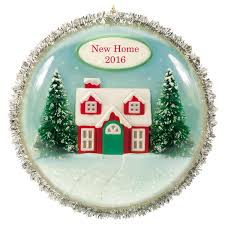New Home Christmas Ornament Silver New Home Christmas Ornament 11