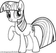 Coloring Pages Twilight Sparkle My Little Pony To