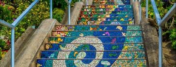 16th Avenue Tiled Steps In San Francisco by Blog