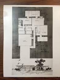100 Eichler Home Plans S Floor Plan 943 Original At UCLA Library Special