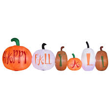 Halloween Blow Up Decorations For The Yard by Halloween Inflatables Outdoor Halloween Decorations The Home Depot