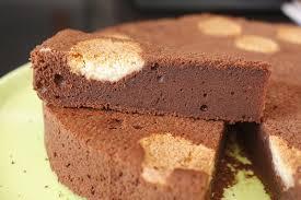 dessert avec des boudoirs gâteau au chocolat à l italienne chez requia cuisine et