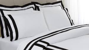 YOUR BLACK AND WHITE BEDDING MAKEOVER LUXURY LINENS MAGAZINE