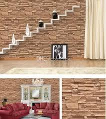 3d tapete wandverkleidung stein ziegel design hintergrund wand vinyl tapete für moderne wohnzimmer