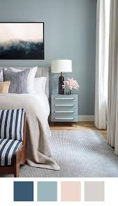 5 Killer Color Palettes To Try If You Love Blue Striped Walls BedroomBlue