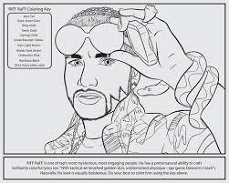 Q A Bun B Popular Hip Hop Coloring Book