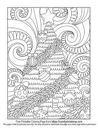 Free Decorated Christmas Tree Coloring Page For You To Download From Comfychristmas