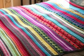 Rainbow Sampler Blanket
