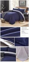 Bed Cover Sets by Honana Wx 8368 4pcs Solid Color Bedding Set Duvet Cover Sets Bed