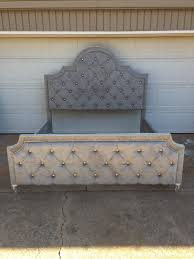 Diamond Tufted Headboard With Crystal Buttons by Headboards Amazing Crystal Headboard Buttons Bedroom Ideas