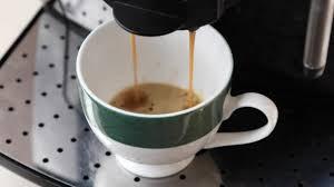 Making Coffee At Home Via The Machine Stock Video