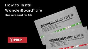 Tile Underlayment Membrane Home Depot by How To Install Wonderboard Lite Backerboard For Tile Youtube