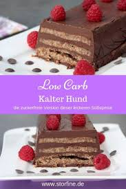 kalter hund low carb zuckerfrei backen low carb kuchen