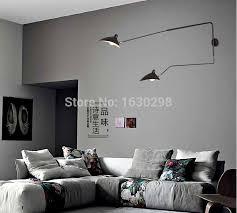 modern 2 arm e27 led wall l by serge mouille pole kitchen home