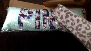 Victoria Secret Pink Bedding Queen by Vs Pink Dorm Bedding Mini Haul Youtube