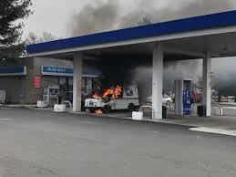100 Postal Truck Fire Return To Sender Aging Mail Trucks Bursting Into Flames New Haven