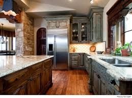 Blue Rock Kitchen Cabinets