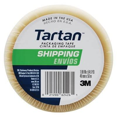 Tartan Packaging Sealing Tape - Clear, 48mm x 50m