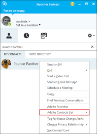 Uwm Help Desk Internal by Office 365 Skype For Business Adding A Contact