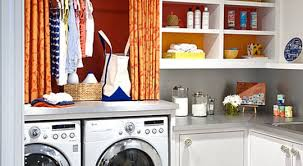 14 utility closet shelves eye catching laundry room shelving