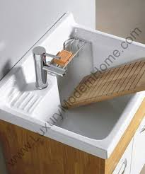 Laundry Room Sink With Built In Washboard by Alexander 24