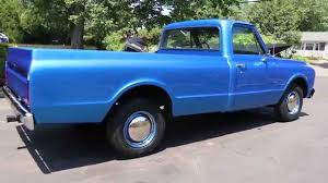 100 1971 Chevrolet Truck C20 Pick Up For Sale383 Stroker W 450hp700R4Viper