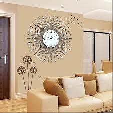 wyf gz uhr wanduhr wohnzimmer modern minimalistischen europäischen kreative mode persönlichkeit uhr schlafzimmer ruhige quarz uhr größe 75 75cm