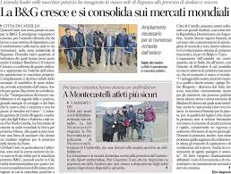 Article Published In The Regional Newspaper Corriere DellUmbria 2017