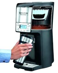 Hamilton Beach Coffee Maker Troubleshooting Iced Instructions K Cup