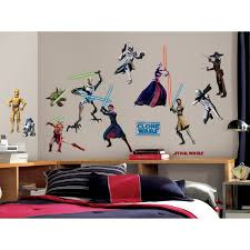 Star Wars Room Decor by Roommates Rmk1382scs Star Wars The Clone Wars Glow In The Dark
