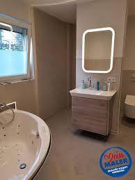 fugenloses bad spachteltechnik hamburg badezimmer dusche