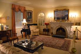 Living Room With Fireplace And Bookshelves by Living Room Armchair Decor Electric Fireplace Fireplace Design