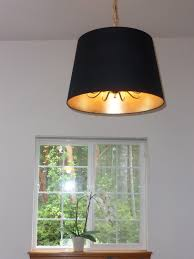 Home Depot Ceiling Lamp Shades by Jara Lamp Shade Over Hanging Ceiling Light Ikea Hackers Ikea