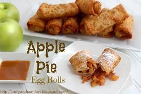 Pumpkin Pie Mcdonalds by Kitchen Simmer Apple Pie Egg Rolls