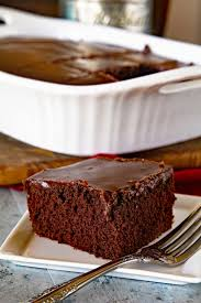 Homemade Chocolate Cake with Chocolate Frosting Julie s Eats