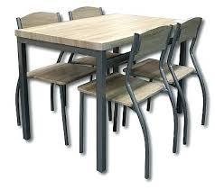 table de cuisine pliante avec chaises charmant meuble gain de