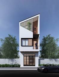 100 2 Storey House With Rooftop Design 50 Narrow Lot S That Transform A Skinny Exterior Into