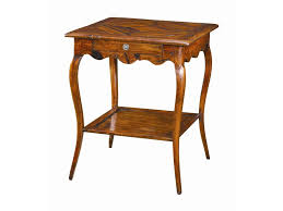 Threshold Campaign Desk Dimensions by Theodore Alexander Tables Square Antique Wood Bedside Table