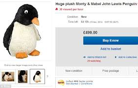 now you can p p p pick up a penguin on ebay the 95 toy that