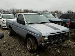 100 1991 Nissan Truck Shor Rear End Damage 1N6SD11S5MC368534 Sold