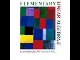 Download Elementary Linear Algebra 8th Edition Pdf