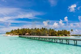100 Conrad Maldive Beautiful Scenery At S Rangali Island License