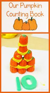 Books About Pumpkins Preschool by Pumpkin Counting Book Made By Preschoolers