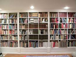 Decorating Bookshelves Without Books by Gorgeous White Wooden Built In Large Bookshelf Ideas For Home