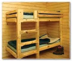 Rustic Cabin Bunk Bed Plans Intersafe