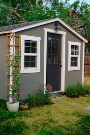 Tuff Shed Small Houses by A Cozy Studio She Shed The Home Depot Blog