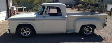 1966 Dodge D 100 Short Bed Stepside Pickup Truck