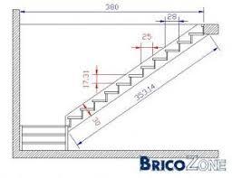 calcul escalier quart tournant escalier calcul