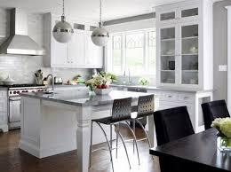 White Kitchen Island Designs